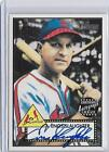 ENOS SLAUGHTER 2001 TOPPS HERITAGE AUTOGRAPH AUTO