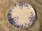 Sons Hanley England Blue and White Floral Plate  8