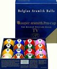 New Belgian SUPER ARAMITH PRO CUP TV Pool Balls Set BRAND NEW Billiard SATS