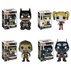 Funko POP! Batman Arkham Knight Vinyl Figures -SET of 4 (Harley Quinn, Scarecrow