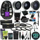 Canon EOS Rebel T6i T6s 750D 760D DSLR Camera Everything You Need Accessory Kit