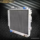 Full Aluminum Racing Radiator For 87 06 JEEP WRANGLER YJ TJ 24L 42L L4 L6