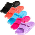 Womens Cushion Slip On Sandals Slides House Shoes Flip Flop Water Shower Slipper
