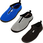 Mens Water Shoes Aqua Socks Slip On Flexible Pool Beach Swim Surf Zipper Yoga