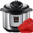 Instant Pot IP-LUX60-ENW Stainless Steel 6-in-1 Pressure Cooker  Mini Mitts