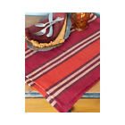 April Cornell Harvest Plaid Ribbed Placemats Set of 4