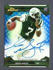 2013 Finest Rookie Autograph Blue Refractor #150 Geno Smith RC 21 25 B85 610