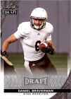 DANIEL BRAVERMAN Western Michigan Broncos 2016 Leaf DRAFT Football RC