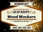 Slap Happy HYBRID Steel/Kevlar Core Nylon Upright Double Bass WEEDWACKER Strings
