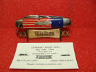 CASE XX FAMILY BRAND--STANDARD KNIFE CO--1925-35--CAMPER/SCOUT- RED/WHITE/BLUE