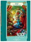 Masterpieces EZ Grip Book Box Alice at the Chessboard Puzzle 300 Piece