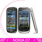 Classic Nokia C Series C7 00 Unlocked Smartphone 80MP WIFI GPS 8GB Touch Free