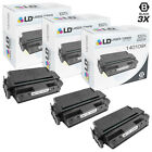 LD Remanufactured Lexmark 140109X 3PK Black Toner Cartridges for Optra N 240
