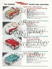 VINTAGE PRINT AD 8 X 11 MURRAY PEDAL CARS 1955 ROYAL DELUXECHAMPIONFIRE CHIEF