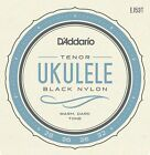 DAddario EJ53T Pro Art Rectified Tenor Ukulele Strings Black Nylon Hawaiian