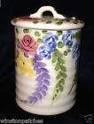 LID BLUE PINK VIOLET YELLOW FLOWERS