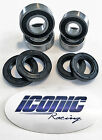 08-14 Kawasaki KFX 450R BOTH Front Wheel Bearing & Seal Kits