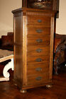 Ethan Allen Royal Charter Oak Jacobean Lingerie Chest Dresser Cabinet