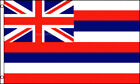 Hawaii Official Hawaiian State Usa American Flag 3x5 Polyester