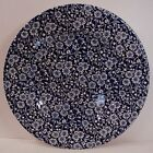 Queens China CALICO BLUE Salad Plate (8-1/2