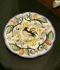 Retired! 4 Fitz and Floyd Ricamo Salad Plates 8-1/4