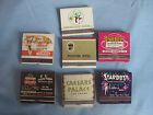 Lot of Vintage Las Vegas MatchbooksStardust Nugget Caesars PalaceHacienda