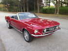 Ford Mustang Convertible GT Options 67 mustang convertible 302 v 8 4 spd autood new power top ps pdisc gt dual exhaust