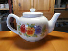 Corelle Jay Imports SUMMER BLUSH Teapot with Lid 4 3/4 in 5 cups