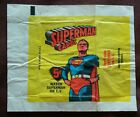 Lot SET all 5 Superman wax card wrappers*1965-1978*1978 OPC*1981