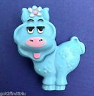 Avon Fragrance Glace Pin BLUE MOO COW 1970s Vintage KIDS Pal Lapel Brooch Vtg NT