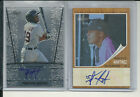 2 FRANCISCO MARTINEZ RC AUTOGRAPH BLUE TINT 99 2011 LEAF &TOPPS HERITAGE MINORS