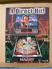 Williams 1995 DIRTY HARRY pinball flyer