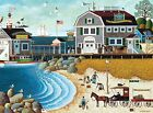 Buffalo Games Charles Wysocki: Clammers at Hodges - 1000 Piece Jigsaw Puzzle by