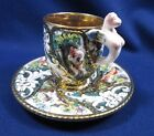 Saucer w/ Figural Handle Italy