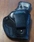 High Noon Black Leather IWB Holster for Sig Sauer P238