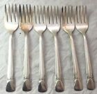 Lot Of 6 Dinner Forks 1939 BOUQUET Embassy Silver Plate