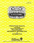 Cyclone Game Operations/Service/Repair Owners Manual/Arcade Pinball Machine