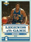WILLIS REED 2009 10 PANINI LEGENDS OF THE GAME SIGNATURE AUTOGRAPH AUTO