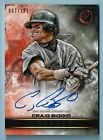 CRAIG BIGGIO 2016 TOPPS LEGACIES OF BASEBALL LOYALTY AUTOGRAPH JERSEY # 7 199