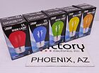 NEW Feit Electric Light Bulb 11W SIGN Incandescent Red Blue Yellow Green Orange