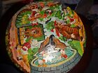 Vintage Walt Disney Character Puzzle Picture puzzle in the Round 1960s