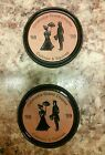 (2) Vintage Frankoma Coasters~Oklahoma Grand Chapter Cameos & Squires '98-'99
