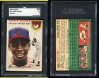 1954 TOPPS ERNIE BANKS #94 ROOKIE CARD- SGC 40- VG3- NO RESERVE