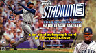 2014 TOPPS STADIUM CLUB BASEBALL HOBBY BOX FACTORY SEALED NEW
