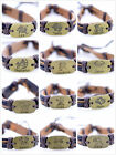 Tibetan style leather alloy Constellations of Zodiac bracelet multiple choices