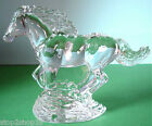 Waterford Crystal Running Horse Figurine Sculpture Made in Ireland NEW in Box