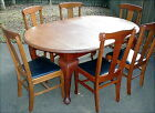 Six SOLID Oak Chairs VERY STURDY