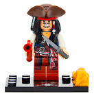 Pirates of the Caribbean Captain Jack Sparrow Minifigur Compatible With Lego TOY