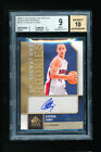 1 1 BGS 9 STEPHEN CURRY 2009-10 UPPER DECK SP SIGNATURES AUTO JERSEY # 30 299 RC