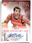 Michael Carter-Williams 2013-14 Panini Intrigue RC Gold Auto 4 10 SSP Rookie